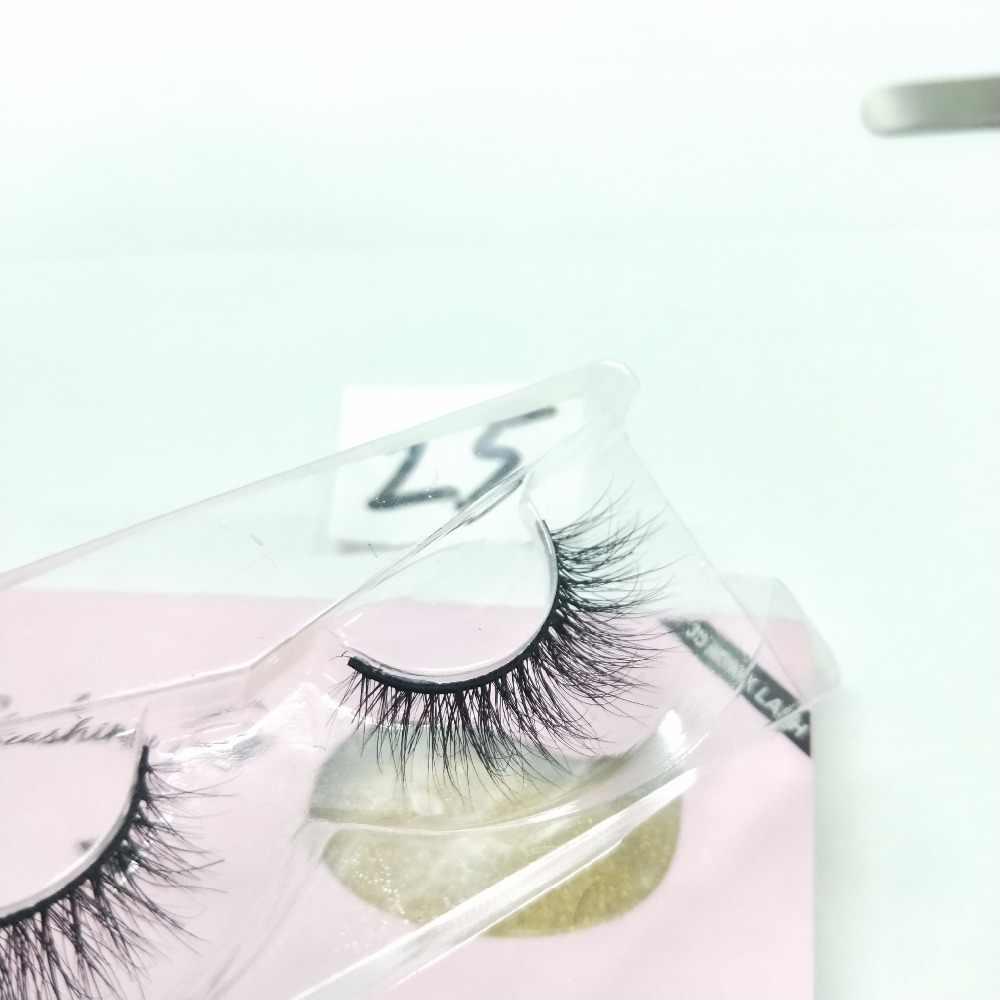 Rabatt Preis Top-qualität Private Label Natürlich Aussehende 3D Real Nerz Wimpern nerz wimpern streifen kostenloser versand