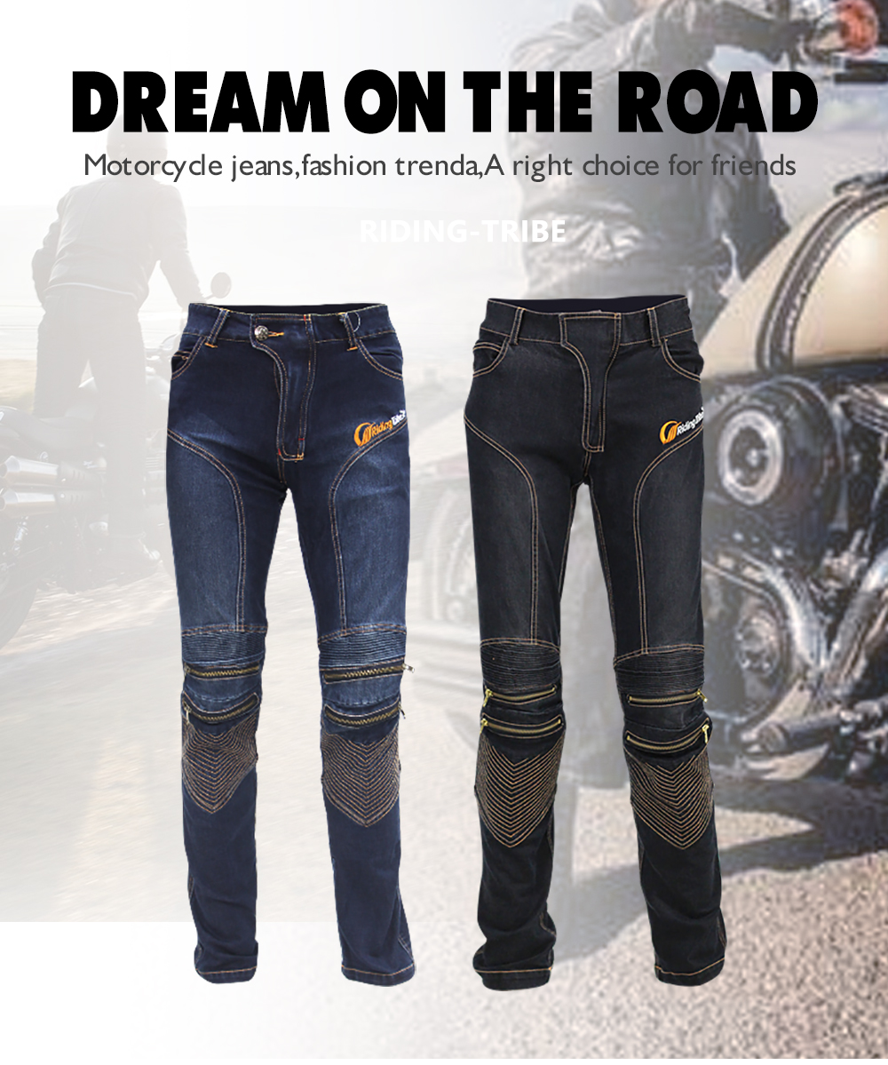 Straight tight Motorcycle Pants Blue Women s font b Jeans b font Uglybros Featherbed font b