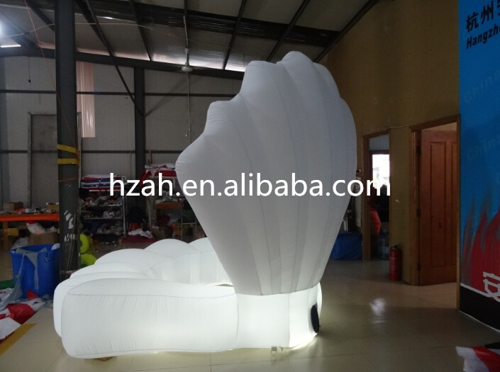 купить Perfect Inflatable clam shell light inflatable seashell недорого