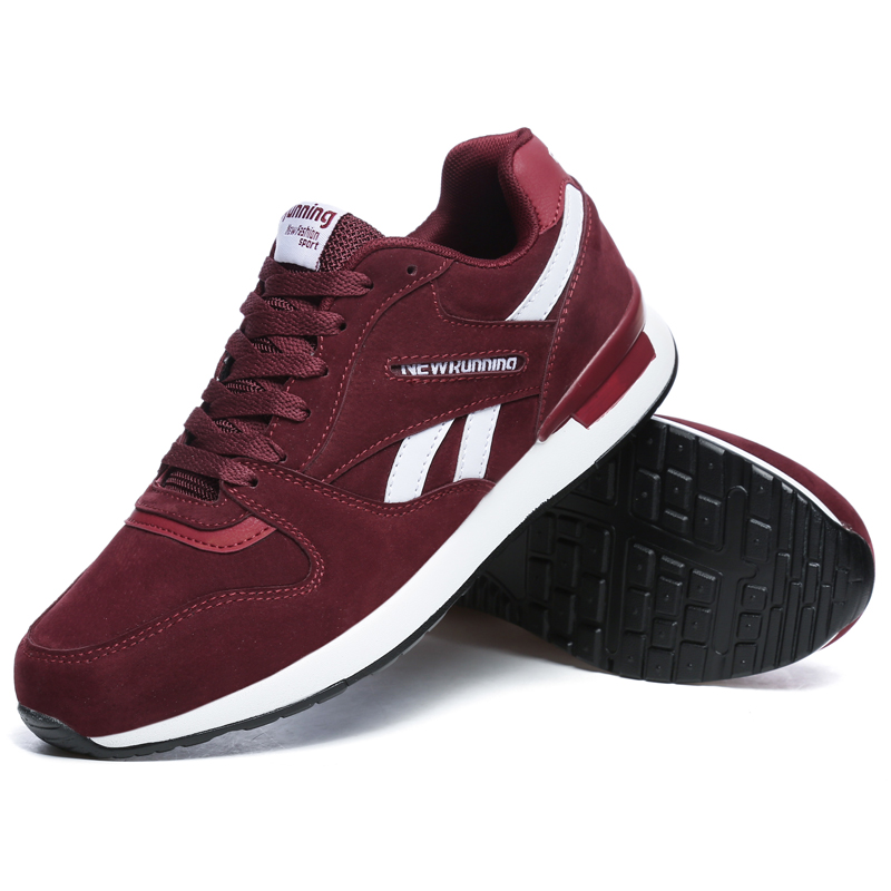 Image 3 - Valstone Men's leather sneaker Unisex Spring casual Trainers Breathable outdoor walking shoes light weight antiskid Rubber sole-in Men's Casual Shoes from Shoes