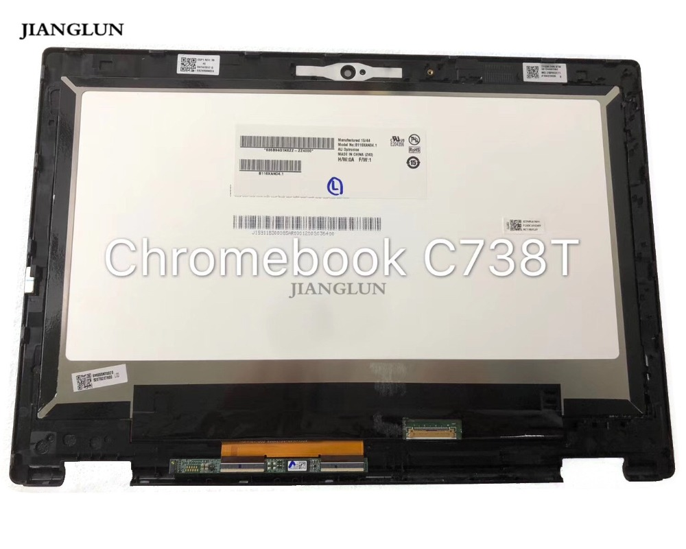 JIANGLUN LCD Touch Screen Digitizer Assembly with Frame with Touchboard For Acer ChromeBook C738T JIANGLUN LCD Touch Screen Digitizer Assembly with Frame with Touchboard For Acer ChromeBook C738T
