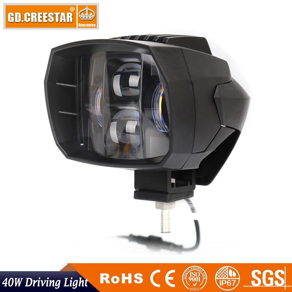 40W 5inch Nova LED svjetla za vožnju 12V 24V LED svjetiljka za - Svjetla automobila - Foto 3