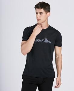Image 3 - Мужская футболка из 2019 мериносовой шерсти, мягкая легкая Влагоотводящая и устойчивая к запаху Спортивная футболка из 100% шерсти, размеры S XL, г/м2
