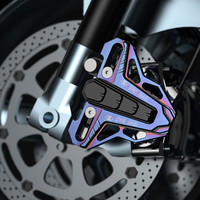 Universal Spirit Beast Motorcycle Aluminum Brake Pump Protection Cover Off road Moto Modified Decorative Accessories