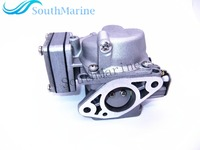Carburetor Assy For Hangkai 2 Stroke 5hp 6hp Outboard Motors