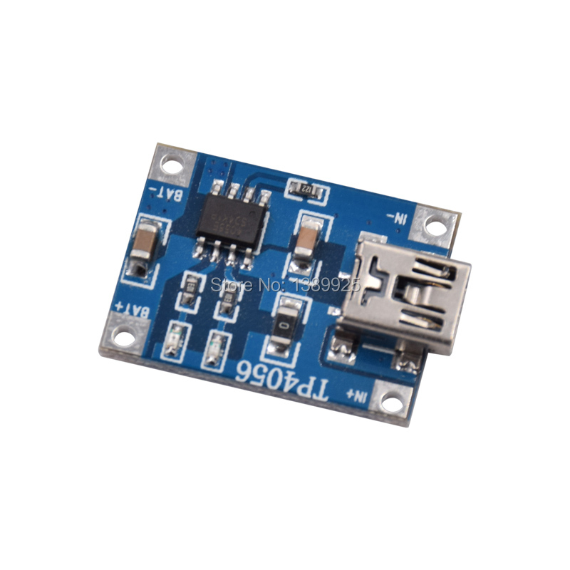 Free Shipping 50pcs/lot 1a Lithium Battery Protection Board Charging Module TP4056 With Protection One Plate Module