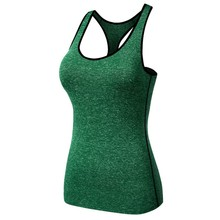 Yoga Vest Gym Compression Tights Women's Dry Quick Running Sport vest T-shirts Fitness Women Clothes Tees tops