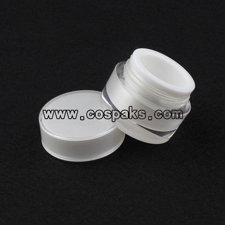 | cosméticos 5 atacado | 5g branco mini boião de creme com tampa