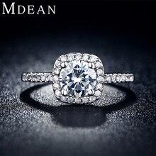 Платиновым mdean bague ааа циркония площади обручальные покрытием роскошные кольца изделия