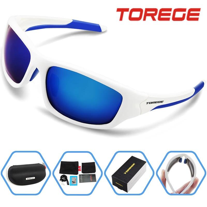 Prix pour Torege Oculos Ciclismo anti - uv400 TR90 lunettes lunettes Gafas Ciclismo vélo Sports cyclisme lunettes de soleil hommes TR011