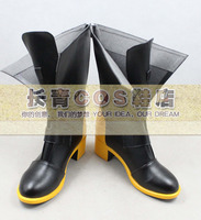 Happy Tree Friebds Splendid Black Short Cosplay Boots Shoes C006