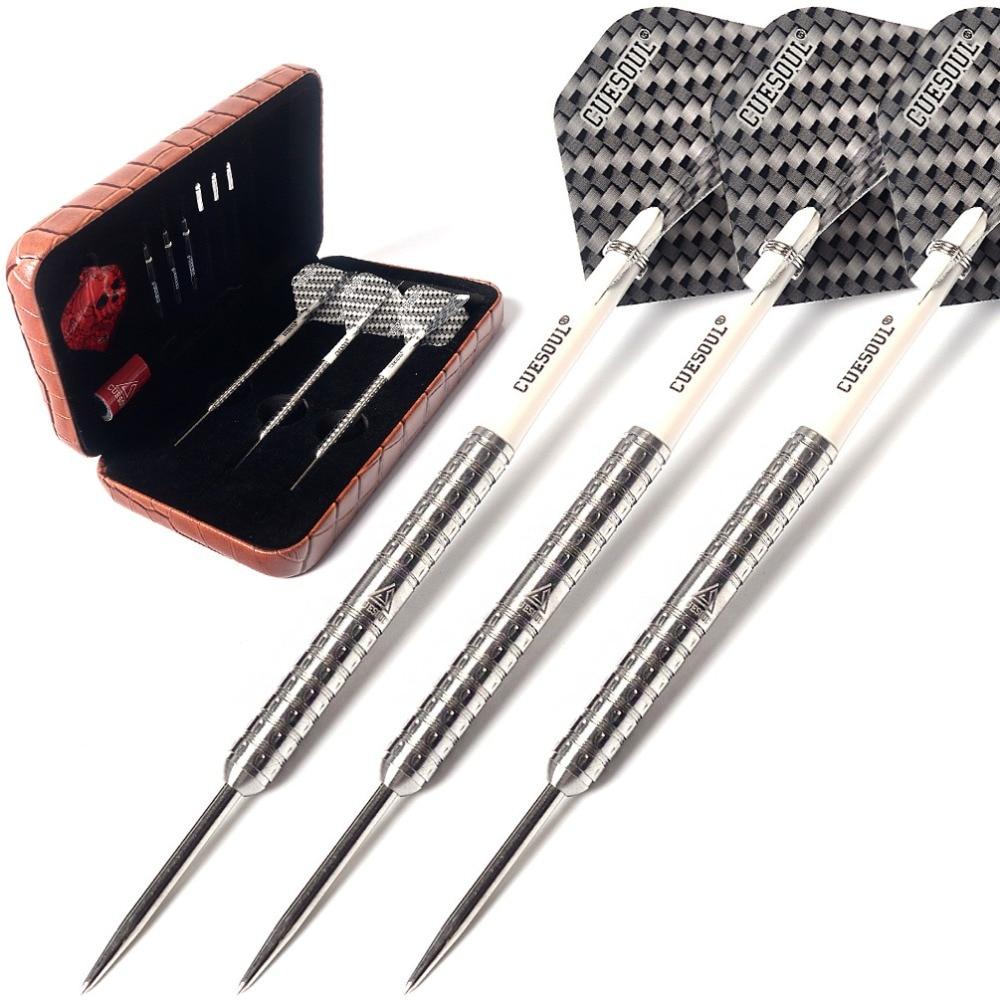 CUESOUL Swift Series 22g/24g/26g Super Slim 98% Tungsten Steel Tip Darts Set cuesoul new tungsten steel tip darts armour series 21 23 grams