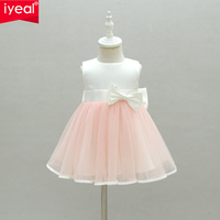 IYEAL Baby Girl Dress 2017 New Princess Infant Party Dresses For Girls Summer Kids Dress Baby