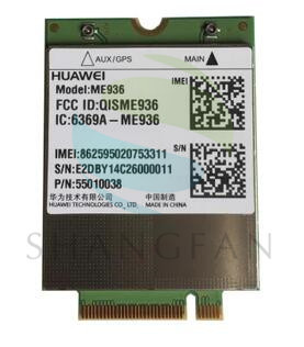 Envío libre para el nuevo huawei me936 4g lte módulos ngff quad-banda wcdma/hsdpa/hsupa/hspa + gprs/edge m.2 inalámbrico wlan
