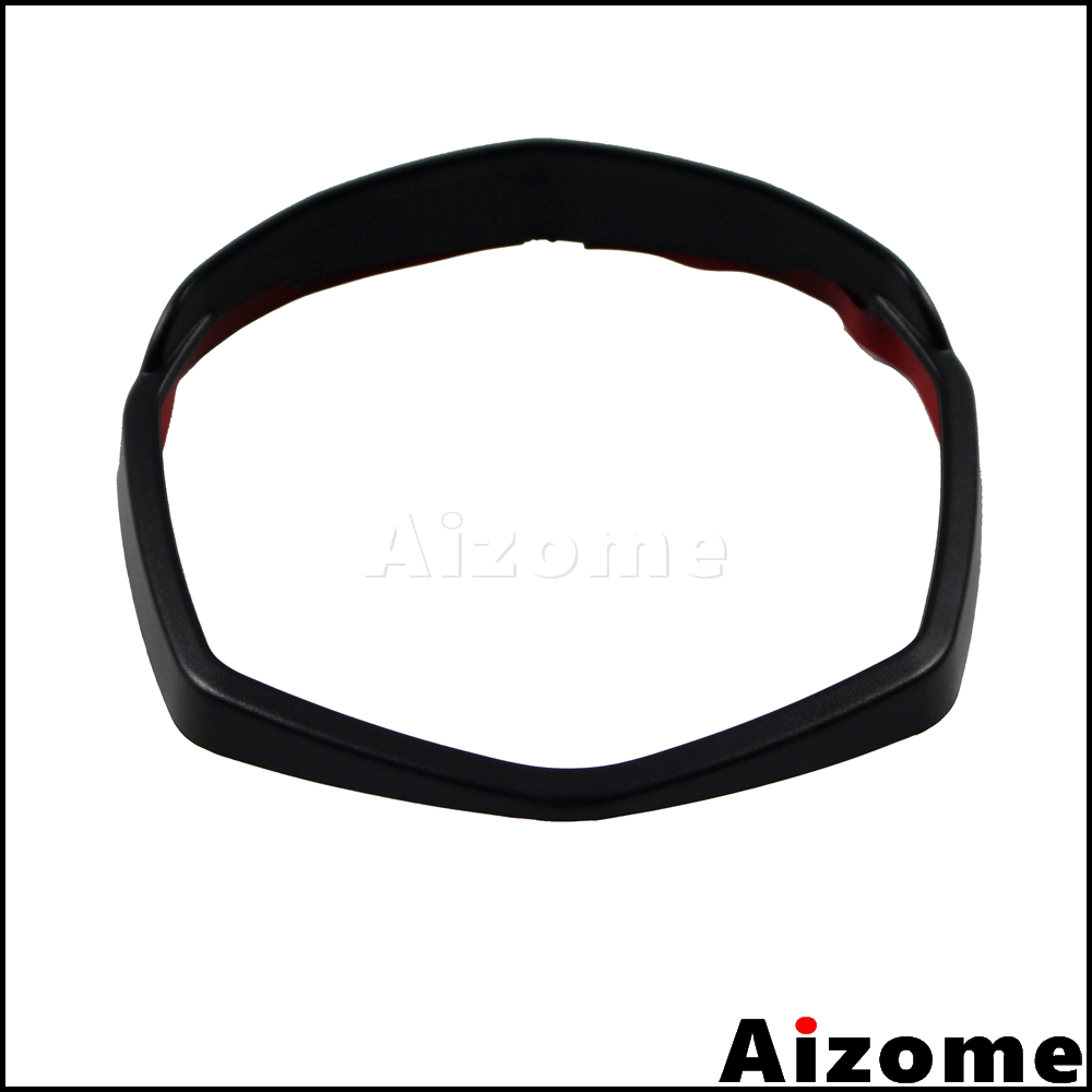 Motorcycle Black Instrument Dash Surround Gauges Panel Rim Cover For KTM Duke 125 200 390 2012 2013 2014 2015 2016 image