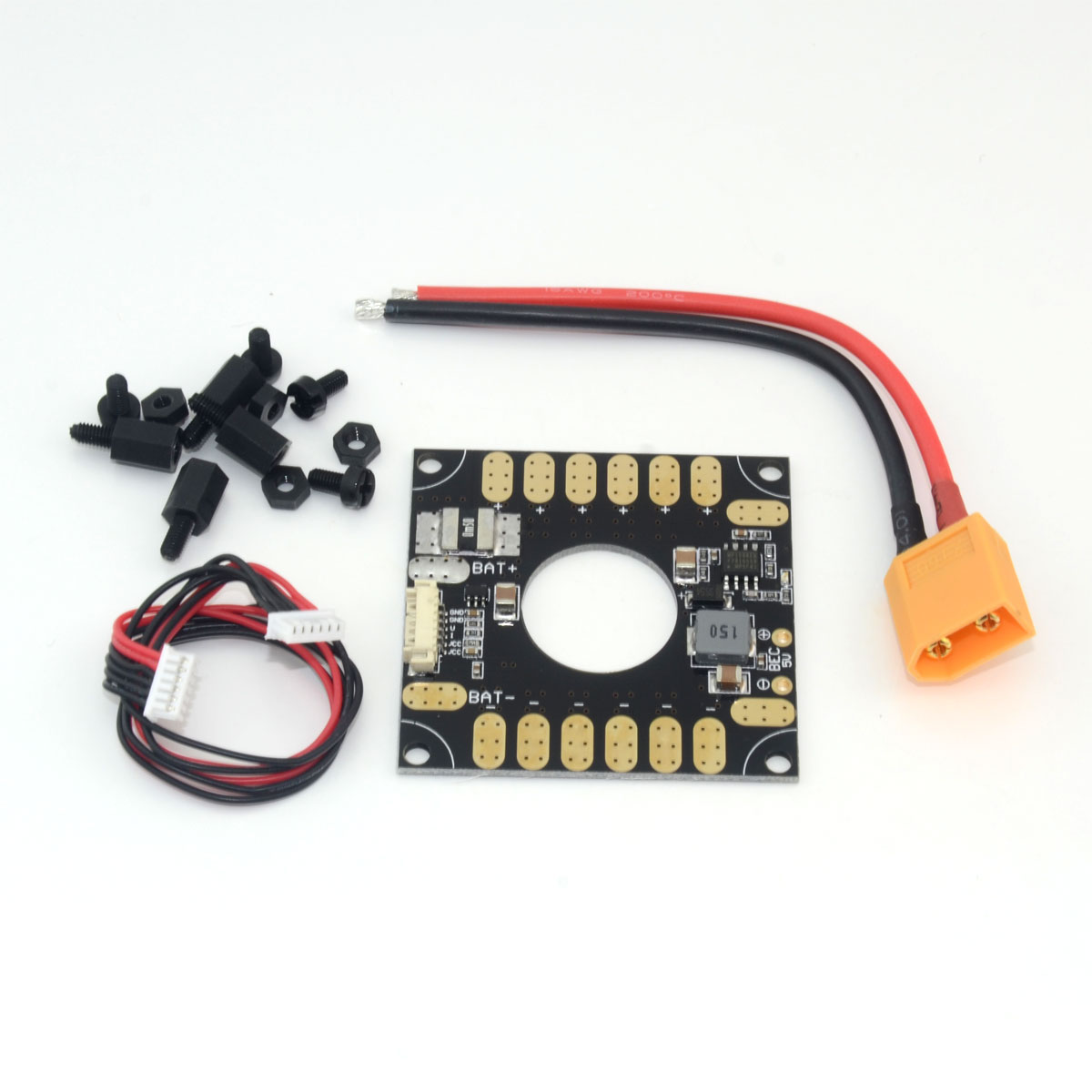 3DR Power Module ESC Distribution Board 5V BEC 3in1 for APM and Pixhawk PX4 RC apm pixhawk px4 5 in 1 pdb super shock absorber integrated power module esc power distribution board 5v