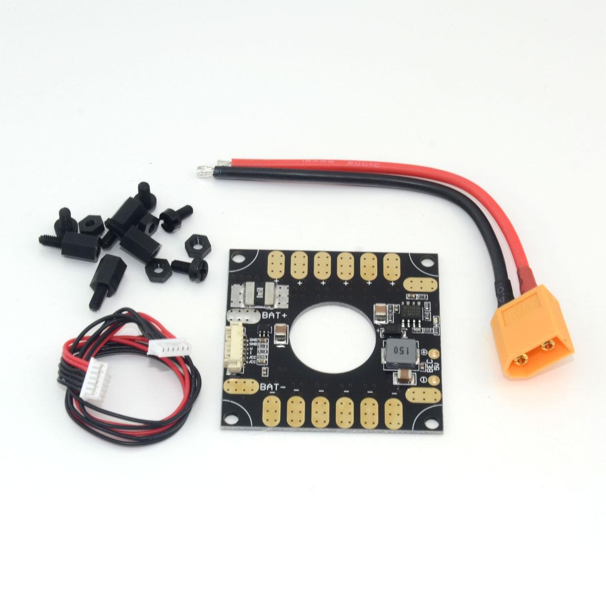 3DR módulo de alimentación ESC junta de distribución 5 V BEC 3in1 para APM y pixhawk PX4 RC