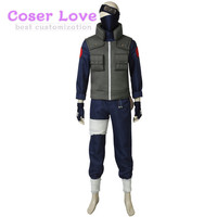 NARUTO Hatake Kakashi Cosplay Costume Halloween Costume Carnival party