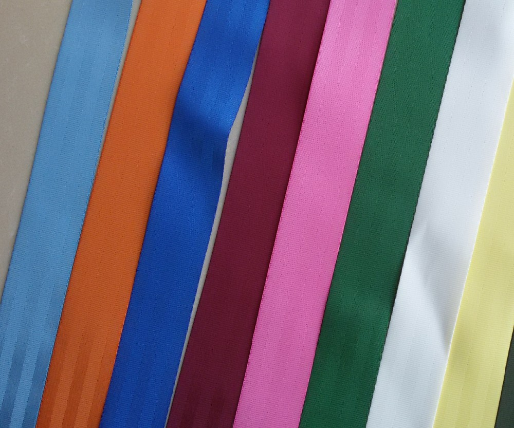 20 meters Roll Seat Belt Webbing Safety Strap Maroon Color 48mm Wide 5 Bars