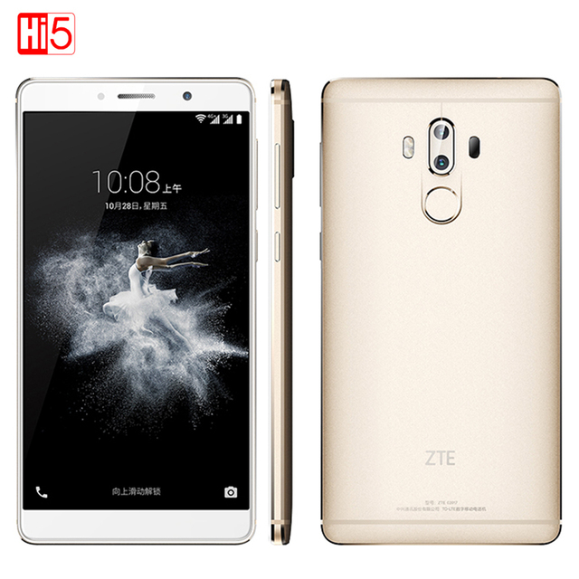 "Original ZTE Axon 7 Max Hi-Fi Mobile Phone Snapdragon 625 6.0"" 4GB RAM 64 ROM 3D Display+Bionic Dual Camera 13.0MP Fingerprint"