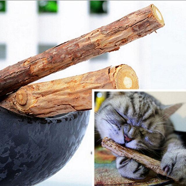 Cat Teeth Cleaning Catnip Sticks 5PCS