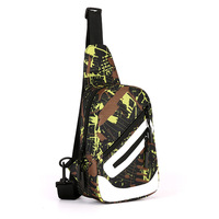 New Outdoor Hiking Camouflage Oblique Bag Man Chest Bag Oxford Cloth Waterproof Multifunctional Portable Bags