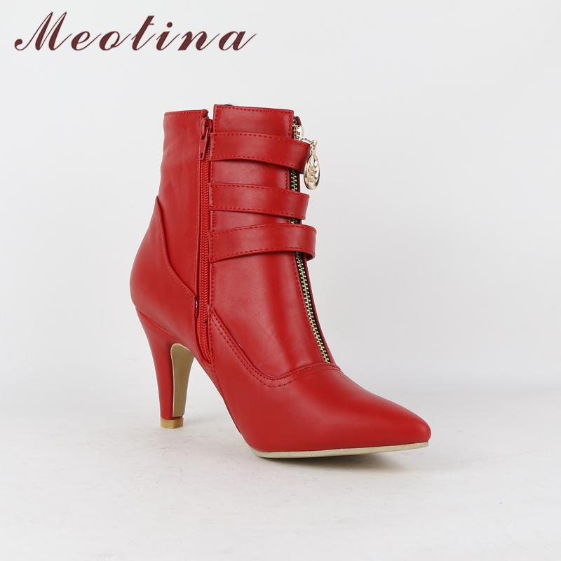 women high heels ankle boots pointed toe ladies shoes - free shipping! Women High Heels Ankle Boots Pointed Toe Ladies Shoes – Free Shipping! HTB1d2CIX6ihSKJjy0Flq6ydEXXaa