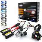 AC 55W 35W Slim Ballast Kit HID Xenon H7 Headlight Bulb H1 H3 H11 9005 9006 3000K 4300K 5000K 6000K 8000K 10000K Replacement