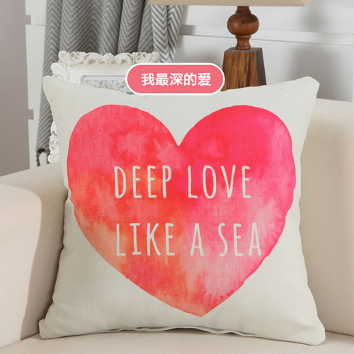 couple heart shaped bed backrest model room decorated living room sofa lumbar pillow car office lunch western stylein cushion cover from home u0026 garden on