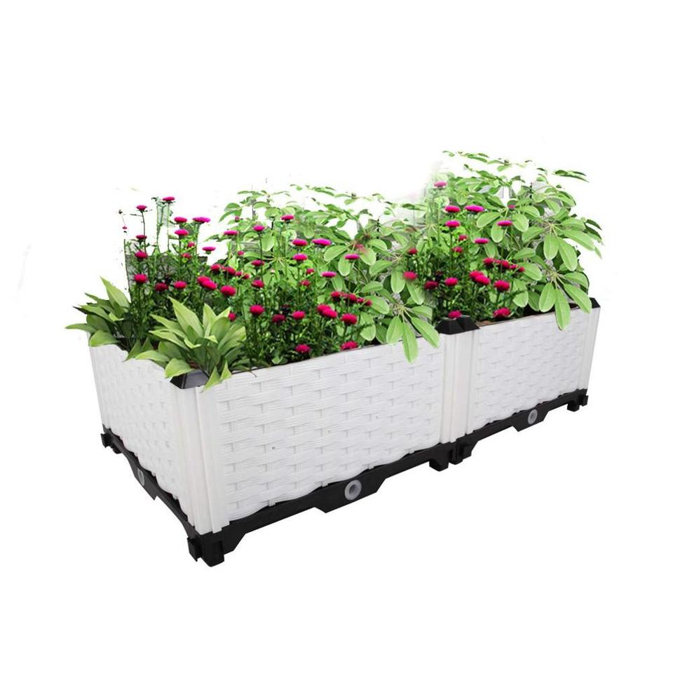 Outdoor Diy Plastic Planter Box Pots