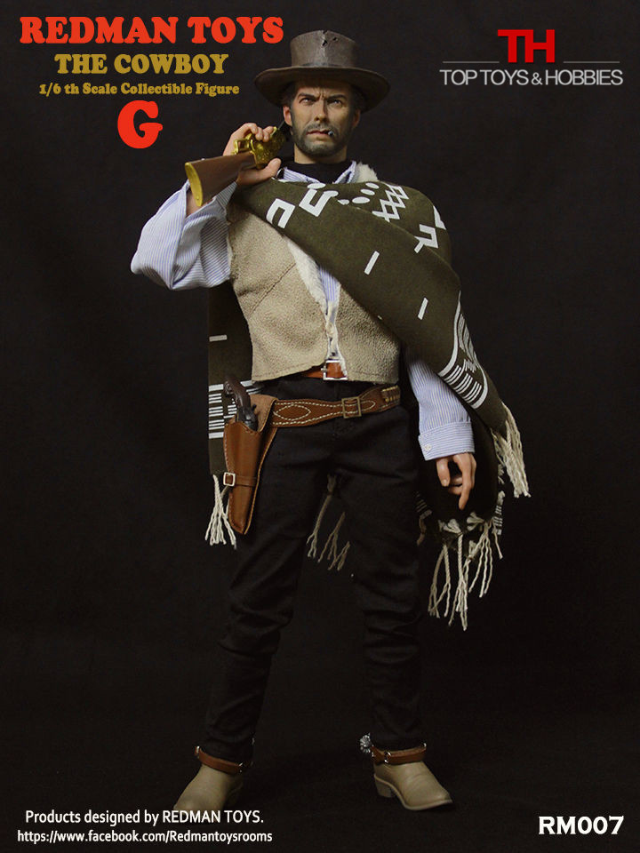 1:6 Western Cowboy DIY Action Figures The Good RM007 G Accessories Set Colletible Model Toy Gift 1 6 soldier action figure the dark zone agent renegad model accessories full set figures