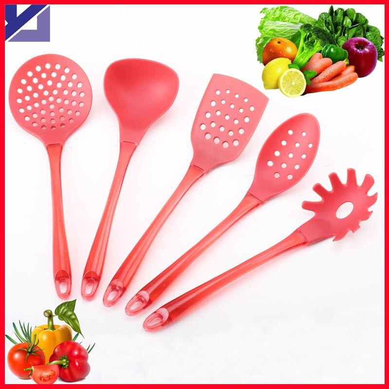 Free shipping 6pcs nylon kitchenware set set nylon for Kitchen tool set of 6pcs sj