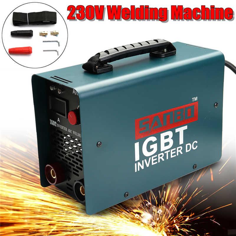 EU Plug ARC-200 Electric Intenter Welding Machine ZX7 MMA 230V DC Welder for Welding Working Electric Working redbo mma arc 250s dc arc electric intenter welding machine mma welder for welding working and electric working