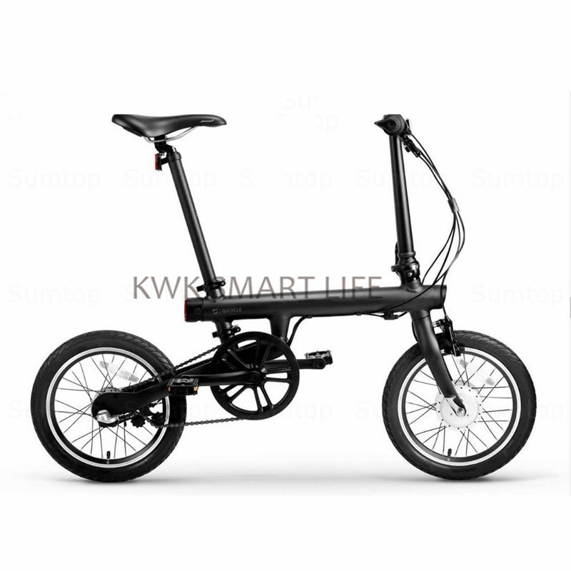 Original Qicycle Bike Foldable Smart Electric Bicyle with Panasonic Lithium Battery free shipping 48v 15ah battery pack lithium ion motor bike electric 48v scooters with 30a bms 2a charger