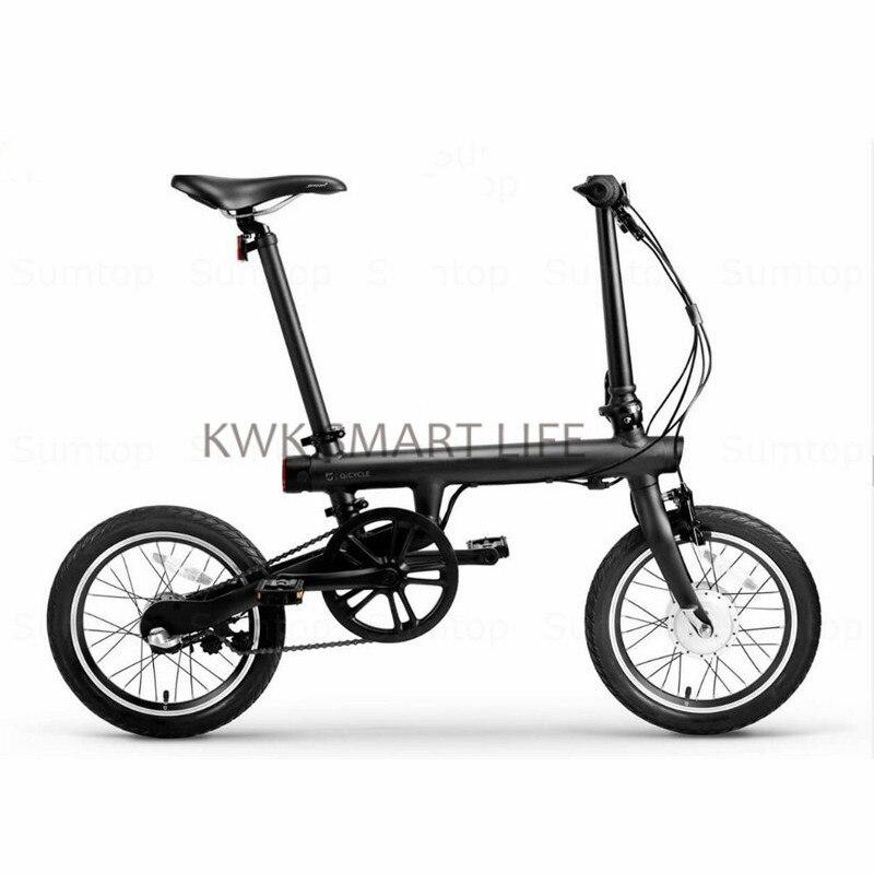 Originale Qicycle Bicyle Bici Pieghevole Elettrica Intelligente con Panasonic Batteria Al Litio