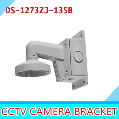 DS-1273ZJ-135B Outdoor Indoor Wall Mount Aluminum Bracket For Dome Network IP Camera DS-2CD2732F-IS cctv bracket ds 1212zj indoor outdoor wall mount bracket suit for bullet camera s bracket ip camera bracket