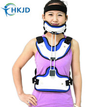 Thoracic Head Neck Medical Orthotics Cervical Spine Fracture Fixation Brace Torso Injury Thoracic Stent thoracolumbar orthosis adjustable lumbar spine after fixation brace bracket thoracic compression fracture support