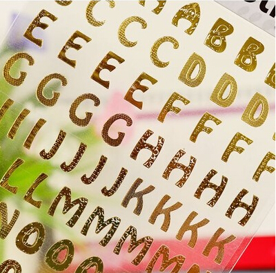 Gold on clear vinyl sticky letters alphabet a z stickers 0 9 sticker numbers letters stickers adhesive plastic labels on aliexpress com alibaba group
