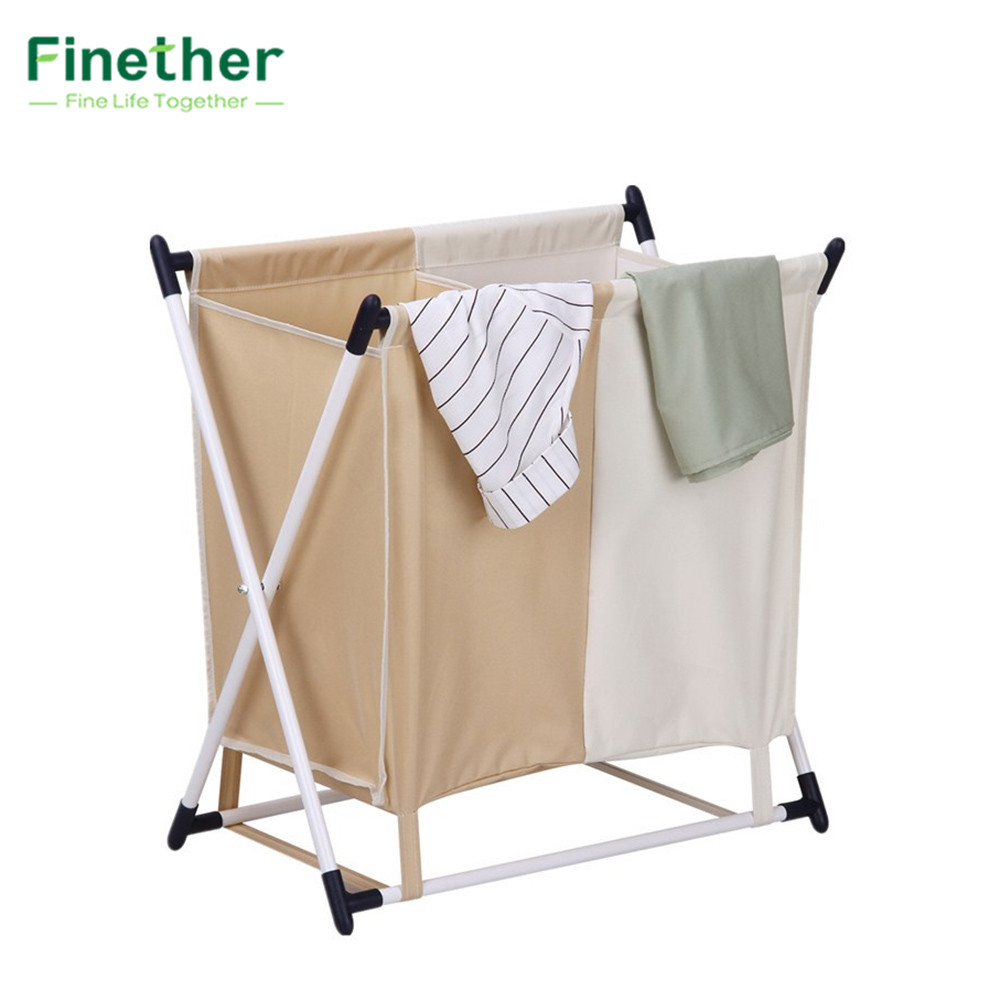 Finether X Frame Laundry Basket Dirty Clothes Storage