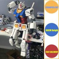 Новый супергерой MOC Японии аниме робот соответствовать legoings gundam техника Военная Модель Строительный блок кирпичи Рождественский игрушки Kid