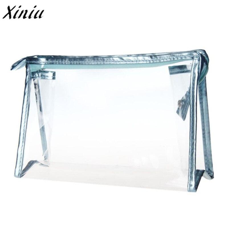 New Top Fashion 1PC Clear Waterproof Storage Makeup Bags PVC cosmetic bag for make up travel rangement maquillage полотенцедержатель keuco edition palais 800мм 40001010800