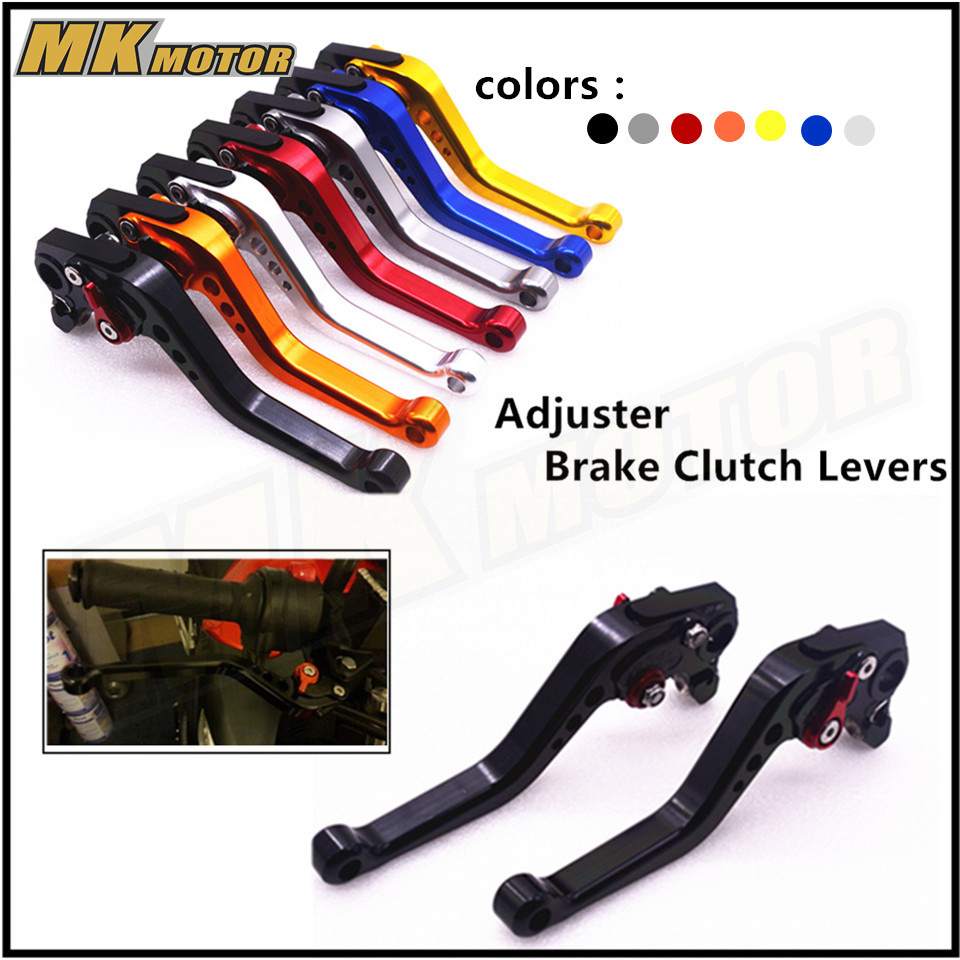 Motorcycle Accessories CNC Short Adjuster Brake Clutch Levers For Suzuki SV650 DL650/V-STROM 600/750 KATANA for suzuki sv650 s gsx600 750 katana gsx 650f gsf 600f rf 600r dl650 hot motorcycle cnc foldable extending brake clutch levers
