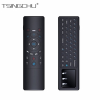 Newest 2 4GHz T6 Remote Control With Keyboard And Touchpad Mini Wireless T6 Fly Air