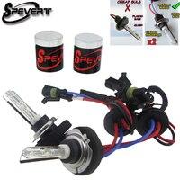 SPEVERT Professional Quality 35W 55W Xenon HID Bulbs Lamps METAL BASE H7 4300K 5000K 6000K 8000K