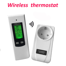 Digitale Draadloze Thermostaat Kamerthermostaat Verwarming En Koeling Functie Met Afstandsbediening + Lcd Backlight