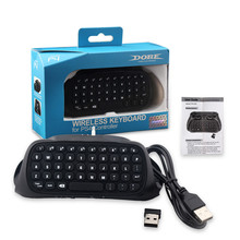 Black/Bule i8 2.4G Mini Wireless Game Keyboard Handheld Keyboard Touchpad for PC Android TV High Quality New Professional