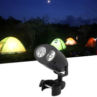 Super Bright Adjustable 10 LED BBQ Grill Barbecue Light Outdoor Handle Mount Clip Camp Lights Waterproof