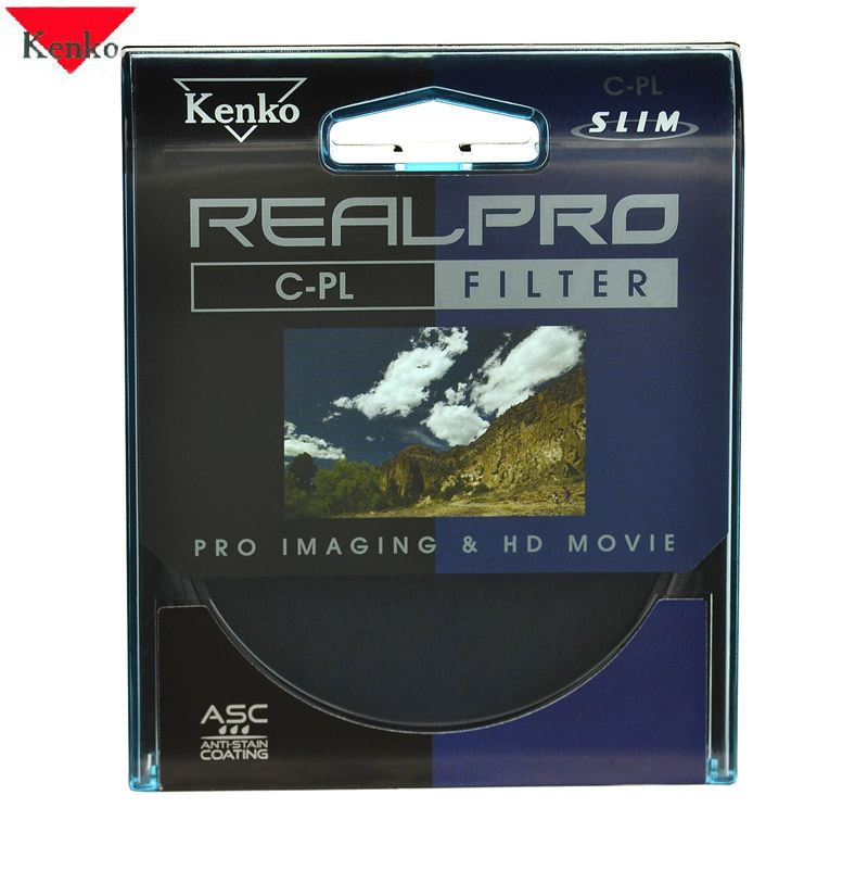 Lens-Protector POLARIZER-FILTER KENKO for SONY 18-55 55mm CPL Slim-Ring CIR-PL REALPRO