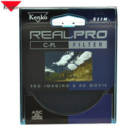 KENKO 55mm REALPRO CPL CIR PL Slim Ring Polarizer Filter Lens Protector Free Shipping For SONY 18 55