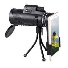 40X60 Monocular zoom HD Telescope Travel High Power Magnification Quality binoculars Free Ship  Camping Birdwatching стоимость